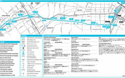 EXPO Line Schedule & Map